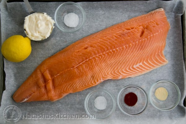 Baked salmon with a tangy glaze for How long to cook fish in the oven