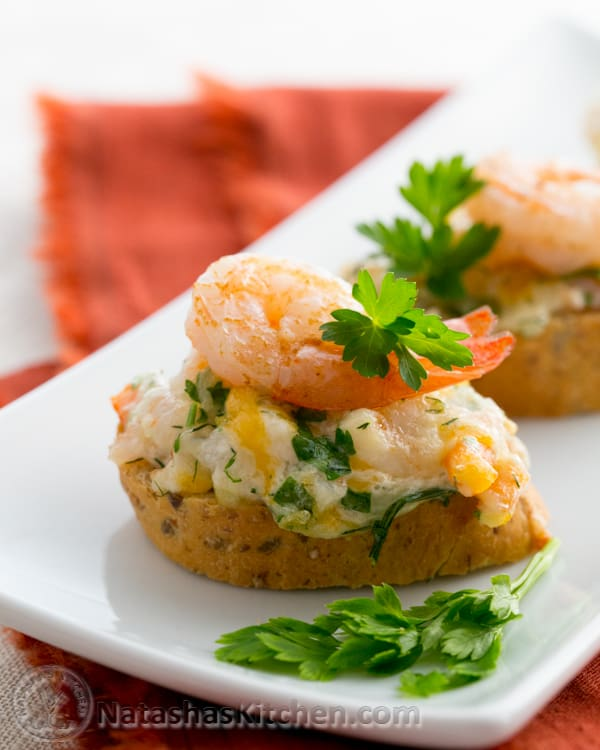 These shrimp tea sandwiches (canapés) are a keeper; uber delicious and so easy to make. The shrimp spread on these tea sandwiches is perfect.