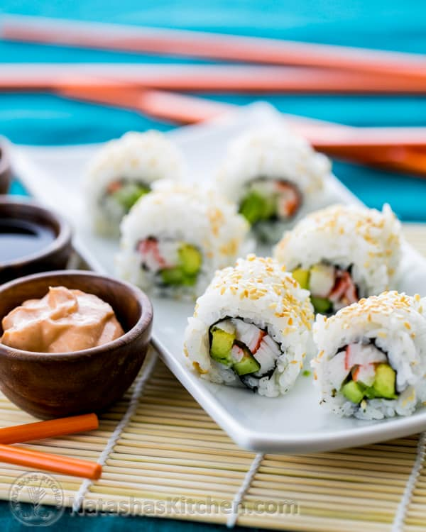 California Roll Sushi_-2