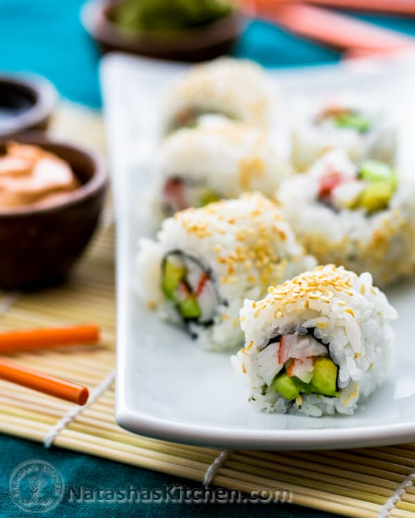 Sushi Rice and California Rolls Recipe