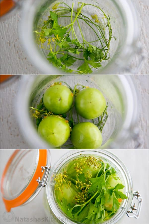 marinated-green-tomatoes
