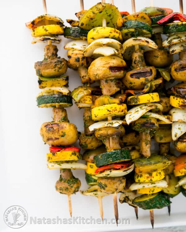 Moroccan Vegetables Skewers-3