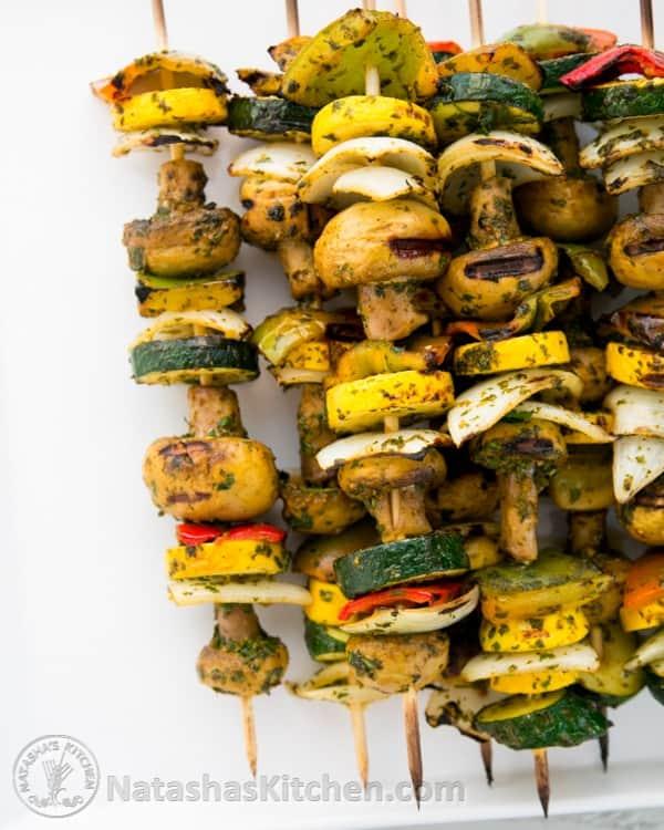 Moroccan Vegetables Skewers-3