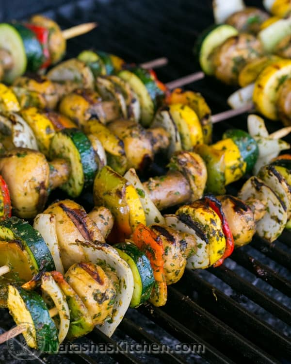 Moroccan Vegetables Skewers