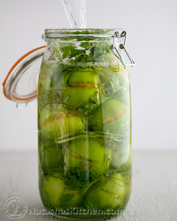 Pickled Green Tomatoes-2-2