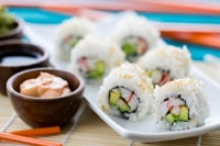 Sushi Rice & California Rolls Recipe TH