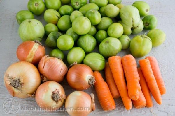 Green Tomatoes Salad
