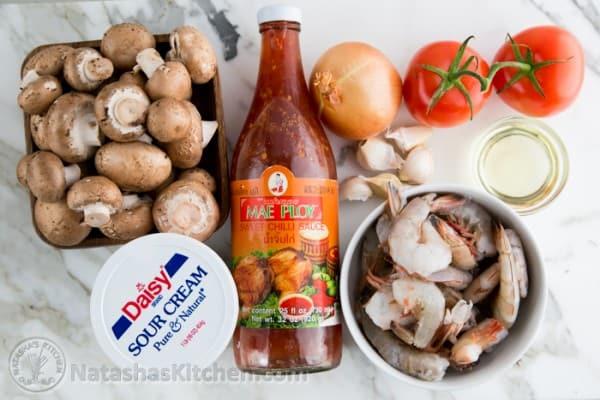 Shrimp & Mushroom Sauce
