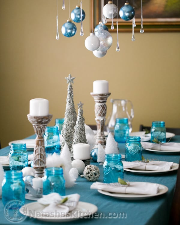 A Fancy Christmas Party Menu Decor More
