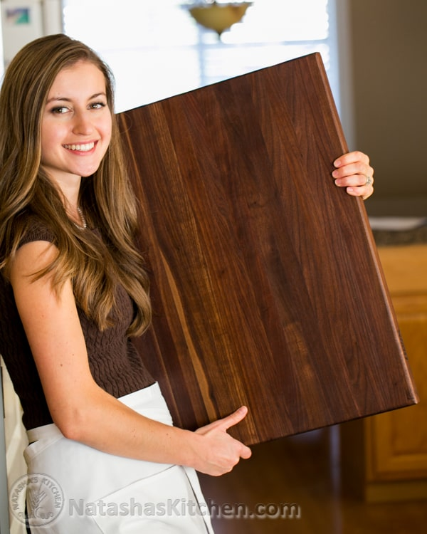 4 Days Till Christmas John Boos Cutting Board Giveaway