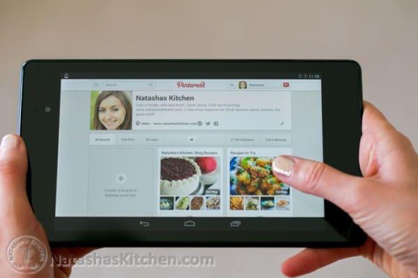 Nexus 7 Tablet wide