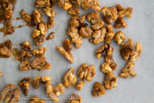 5 minute Candied Walnuts-7