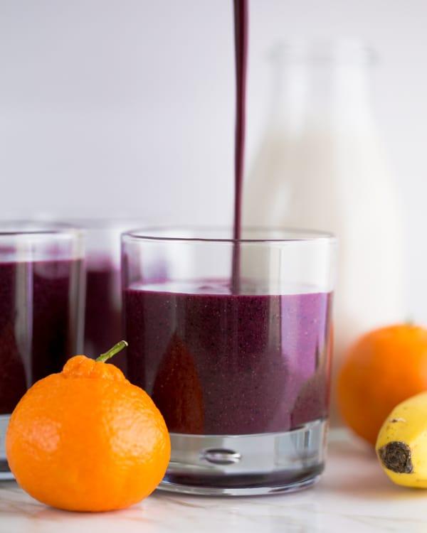 Blueberry smoothie recipe for Natashas kitchen