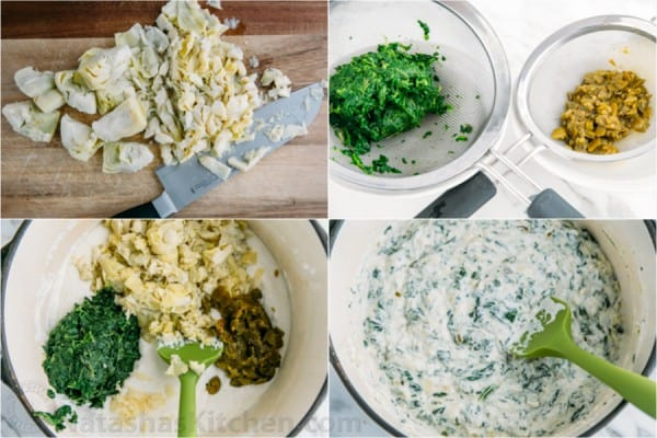Skinny Spinach and Artichoke Dip -1