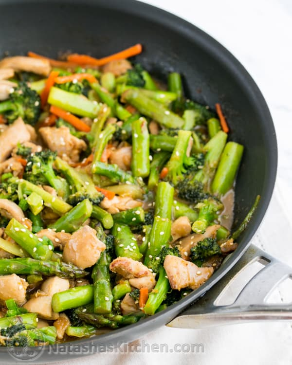 Orange Chicken and Vegetable Stir Fry-2-2