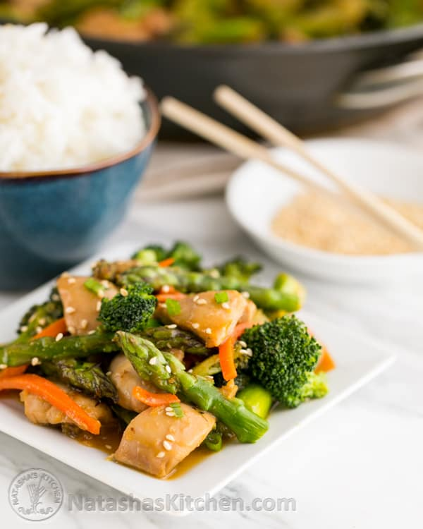 recipe stir fry chicken and vegetables