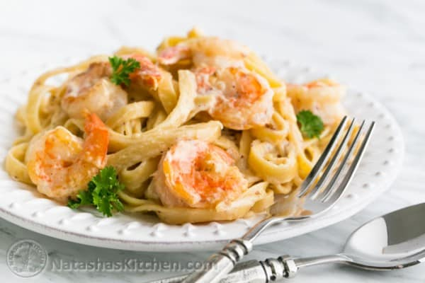 Shrimp Fettuccine Alfredo Olive Garden