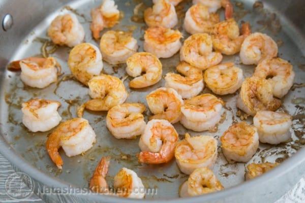 Alfredo Shrimp Pasta