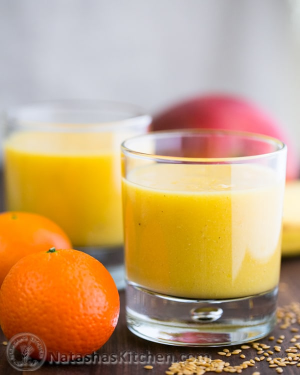 Start your day with this vitamin-rich, lip-smacking tropical mango pineapple smoothie for a quick breakfast or an afternoon snack.