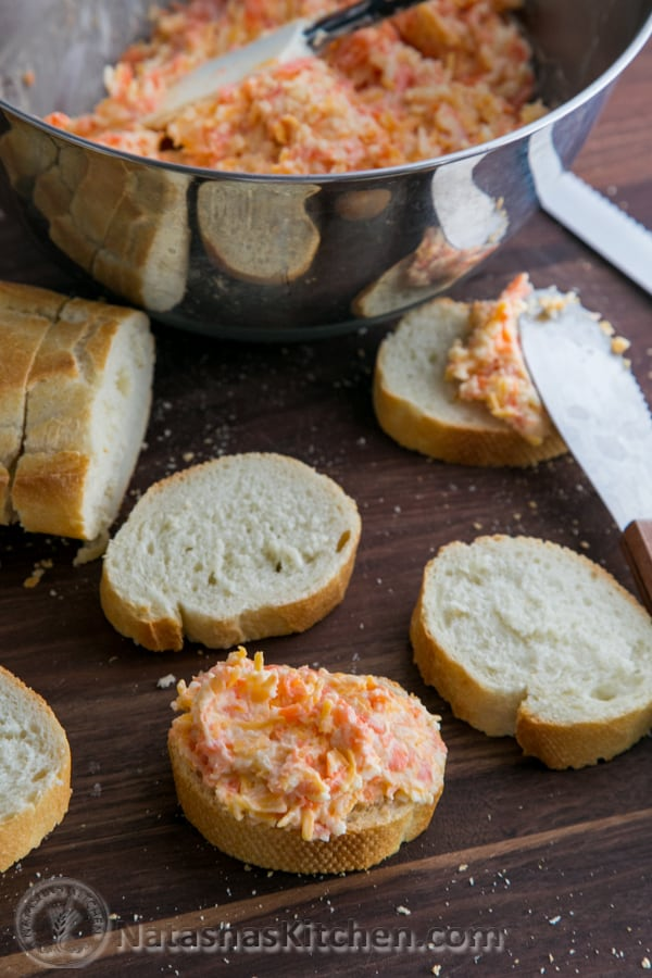 Carrot and Cheese Spread-8