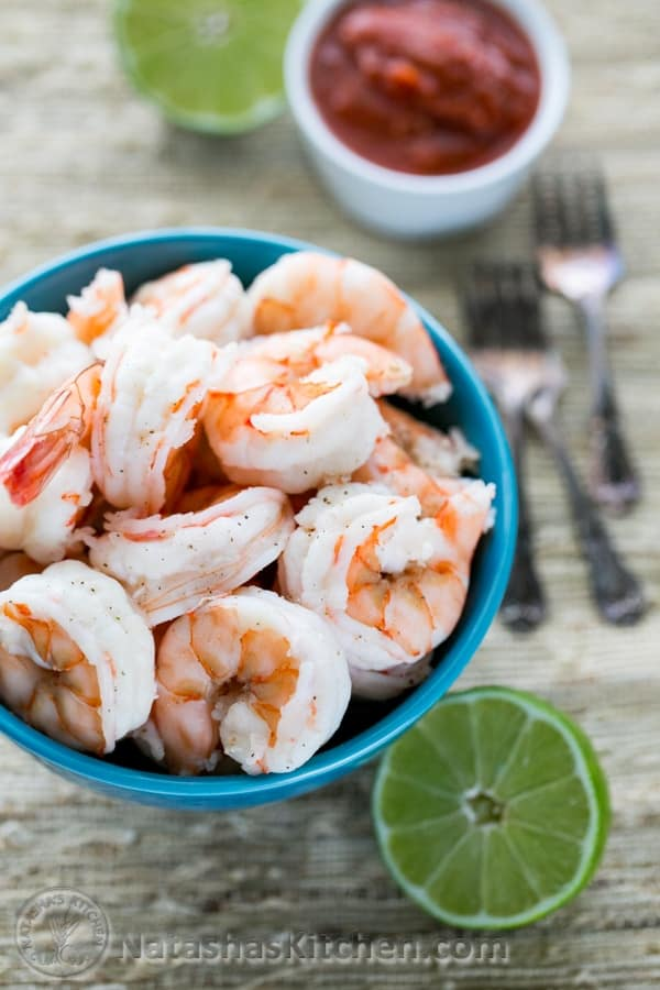 What can i make with cooked shrimp : Walkerville south beach