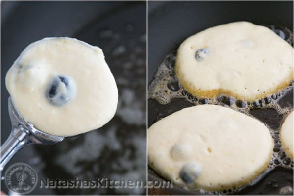 Sour Cream Blueberry pancakes (2)