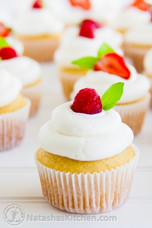 Natasha S Kitchen Vanilla Cupcakes