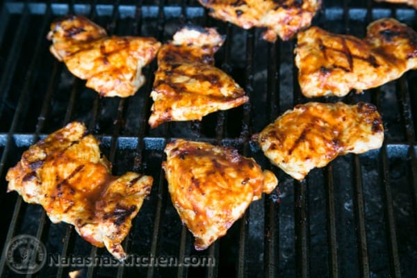 how to cook chicken thighs on bbq