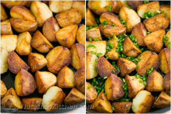 Crisp Sautéed Red Potatoes 3