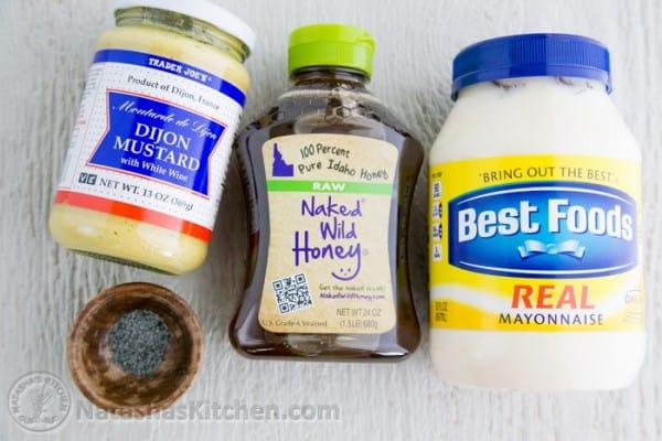 Baked Breaded Chicken Strips Recipe with Honey Mustard Dip-3