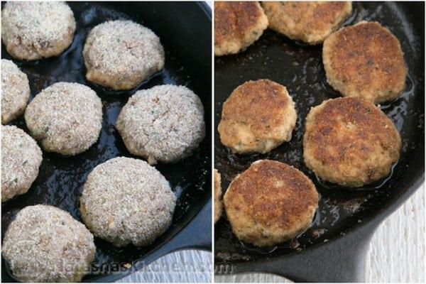 Breaded Pork Meatballs-5