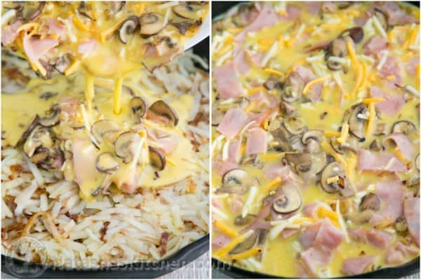 Cheesy Hash Brown Egg Casserole-5