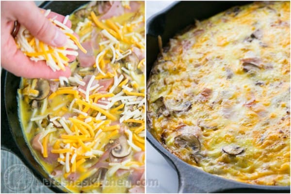 Cheesy Hash Brown Egg Casserole-6