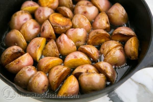 Crisp Sautéed Red Potatoes-7