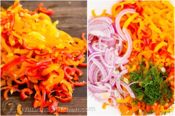 Zesty Mini Bell Pepper Salad-4
