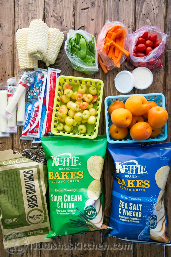 15 Healthy Road Trip Snack Ideas, Road Trip Packing List, and Tips for Traveling with Children from @natashaskitchen