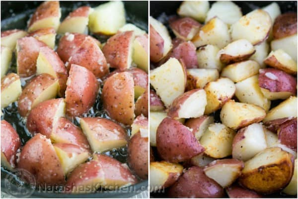 Buttered Red Potatoes with Dill-5