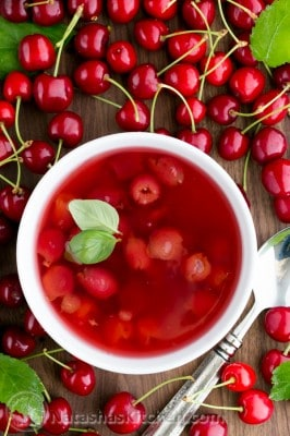 Kissel was one of our favorite childhood treats.This cherry soup kissel recipe is really easy to make and has just 4 ingredients.