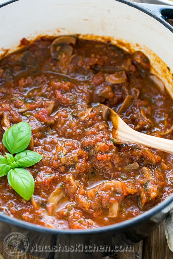 mushroom marinara that's 100x better than any canned sauce! Perfect ...