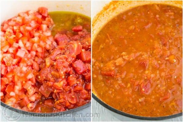 Mushroom Marinara Sauce Recipe-4
