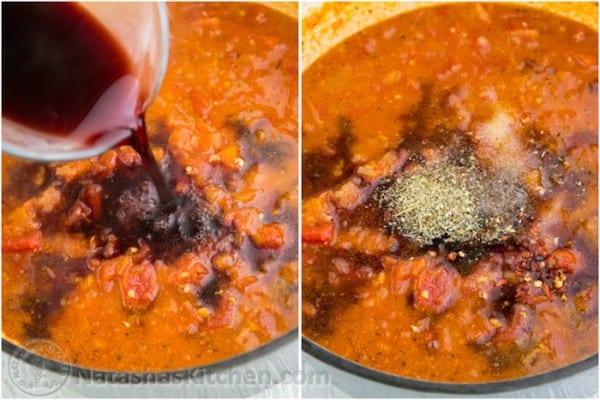 Mushroom Marinara Sauce Recipe-5