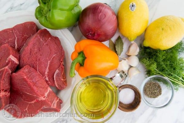 Tender Beef Kabobs Recipe