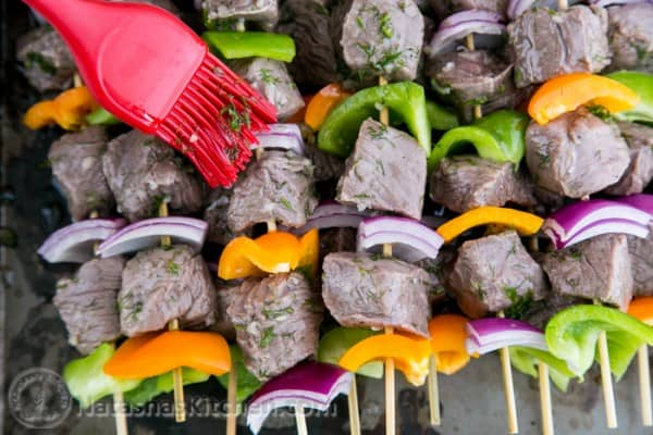 how to make steak kabobs