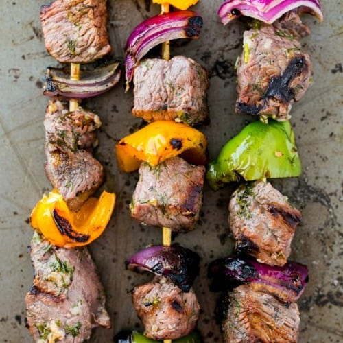 Tender Beef Kabobs (Shashlik) Recipe