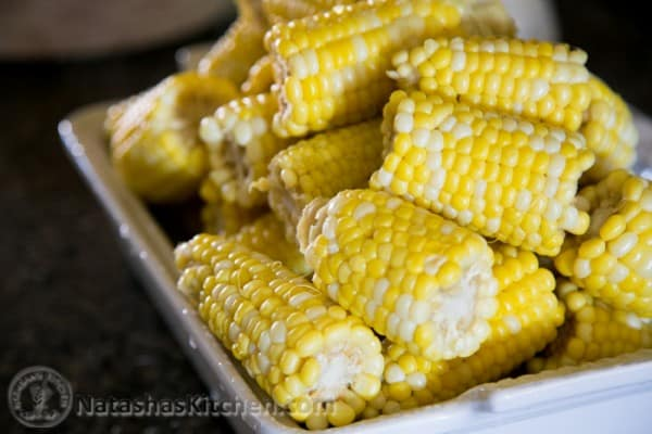 Corn on the Cob - Birthday Party Menu