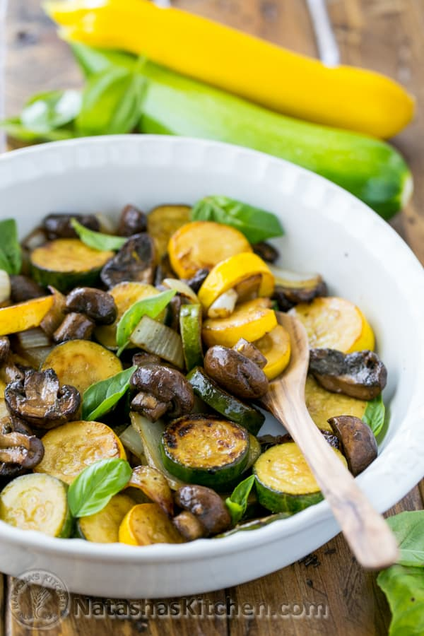 Grilled Zucchini And Mushrooms Grilled Vegetables Recipe Bbq