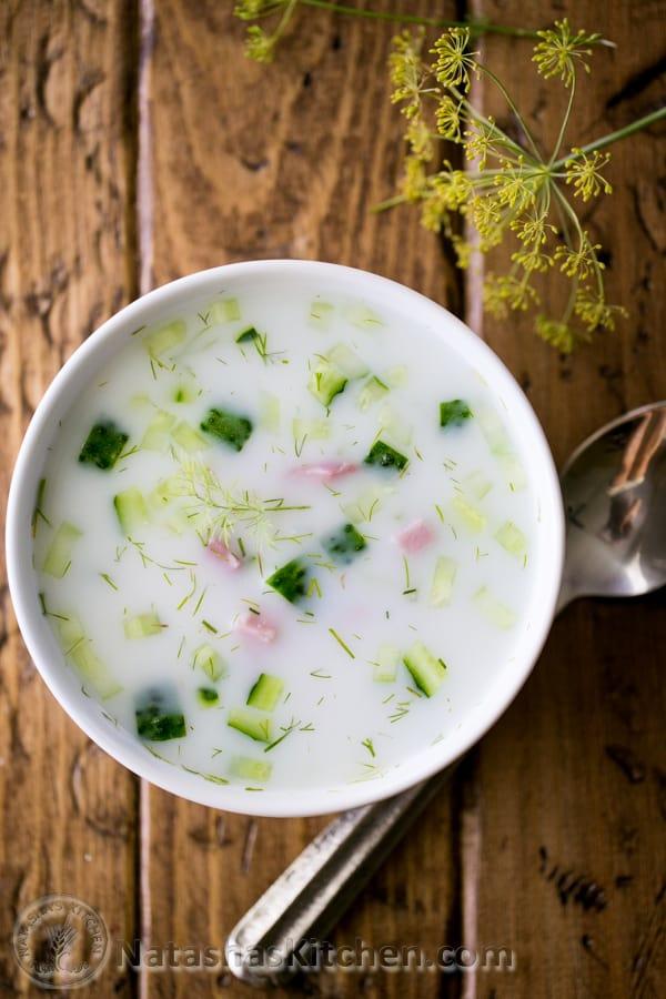 Okroshka Summer Soup-9