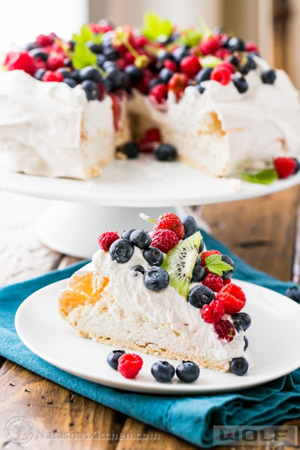 Berry Pavlova Recipe, How to Make Pavlova, Best Pavlova Recipe