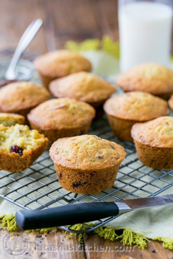 You will love these yummy zucchini muffins. They make for a quick snack or to-go breakfast if you're in a hurry. We hope you enjoy these!