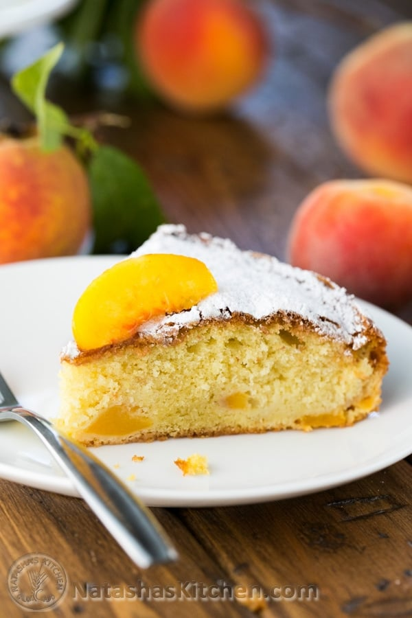 Peach Cake Recipe, Peach Dessert Recipe, Easy Peach Cake Recipe